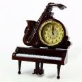 часы рояль саксофон