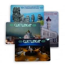 Магниты  символикой города Сыктывкара